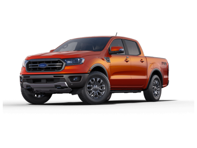 2019 Ford Ranger Lariat 4WD Supercrew 5 Box Crew Cab Pickup